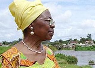 Marthe Moumié, militante anti-colonianiste et indépendantiste